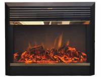 Широкие электрокамины с эффектом живого огня зефир для барбекю